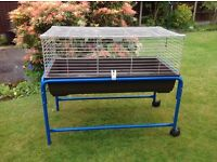 Indoor Rabbit / Guinea Pig Cage & Stand