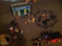 Cowboys and Indians Playmobil set