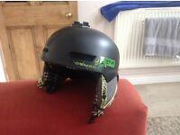 Demon Lids Snowboard Helmet (large)