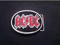 AC/DC belt buckle