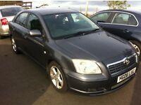 TOYOTA AVENSIS 2.2 D4D 2005 FOR PARTS!