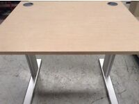 Desk electric height adjustable