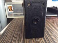 Vintage Ensign Box Camera