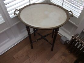 SIDE TABLE PERIOD BUTLERS TRAY STYLE
