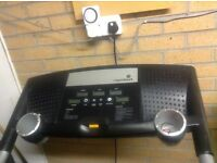Roger black treadmill motorised several programs - great condition
