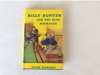 BILLY BUNTER AND THE BLUE MAURITIUS - HARDBACK BOOK