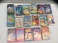 Waltz Disney vhs tapes for sale