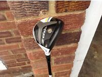 Ideal Christmas present - Mens Taylor Made 3wood golf club with cover and shaft adjuster