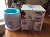 Nearly NEW AVENT Baby bottle warmer