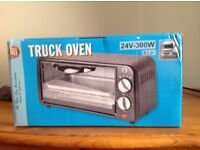 24V, 300W portable oven. Suitable for trucks.