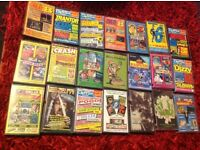 Sinclair spectrum demo/game tapes from various magazines(boxed/unboxed)