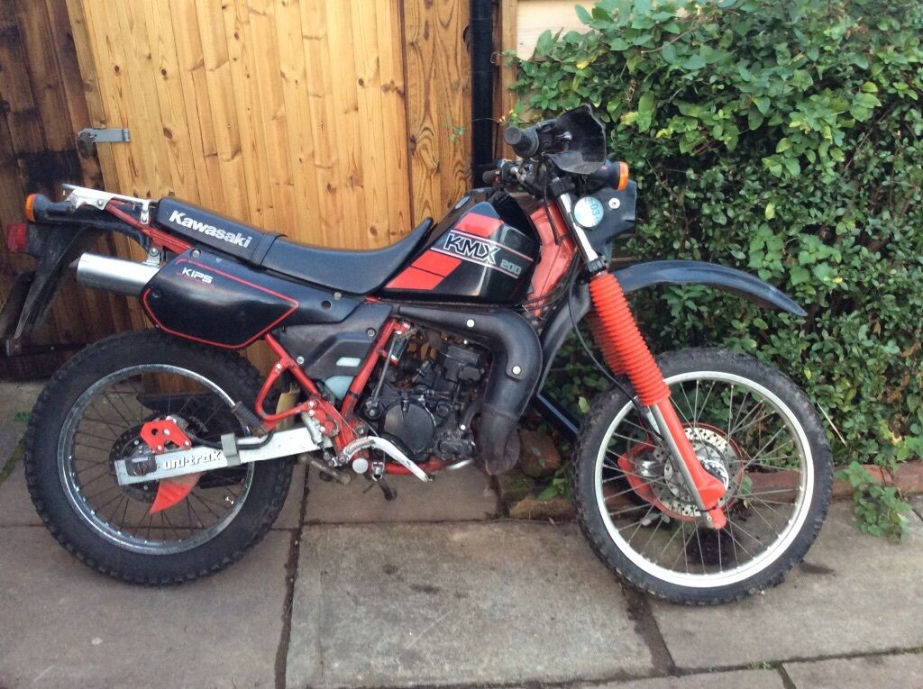 kawasaki kmx 200 for sale 1990 in worcester. Black Bedroom Furniture Sets. Home Design Ideas