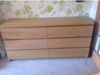 Ikea 6 drawer unit