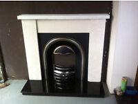 new fireplace surround