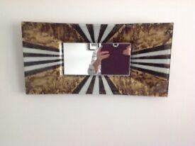 Metallic mirror