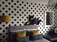 Wallpaper dots graham and brown x 6 rolls