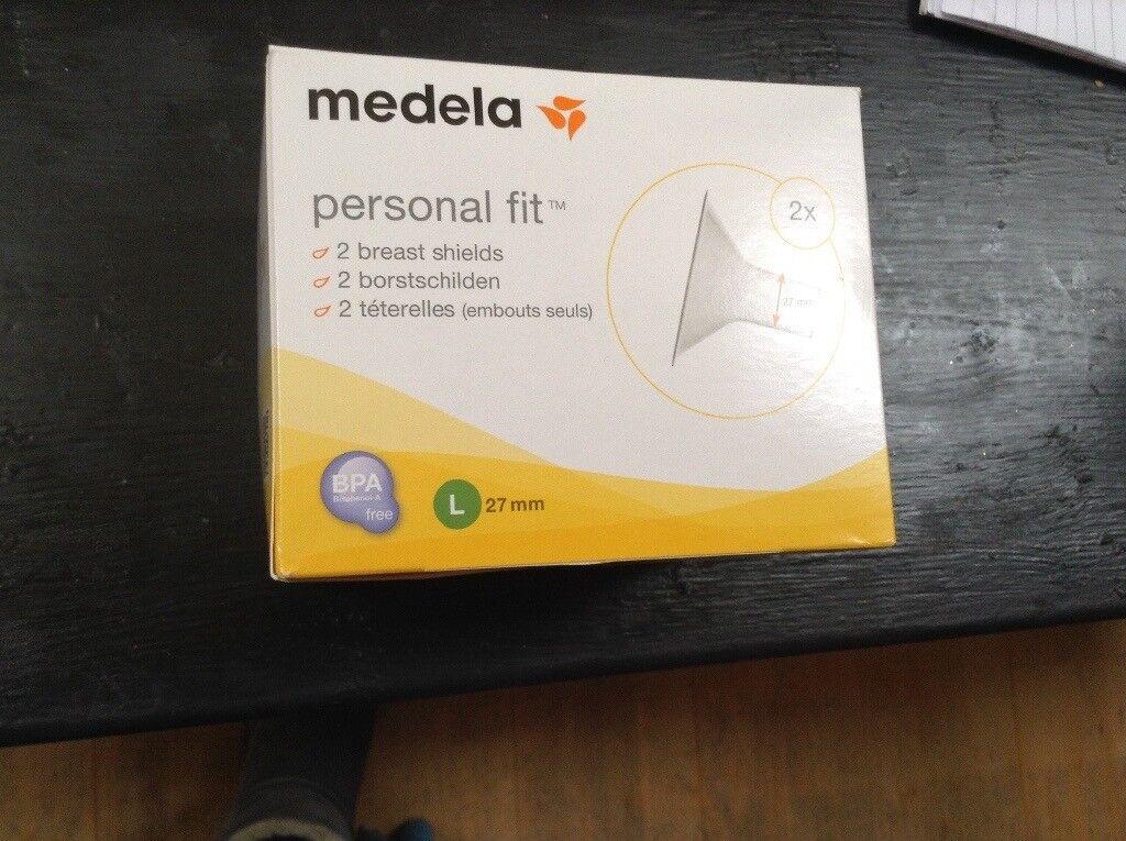 MEDELA breast shields -LARGE 27mm
