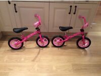 Chicco Balance Bikes - Selling two