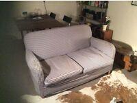 FREE two seater gingham sofa - retro - shabby chic - ikea
