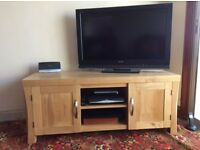 Oak TV Cabinet/Unit - £180
