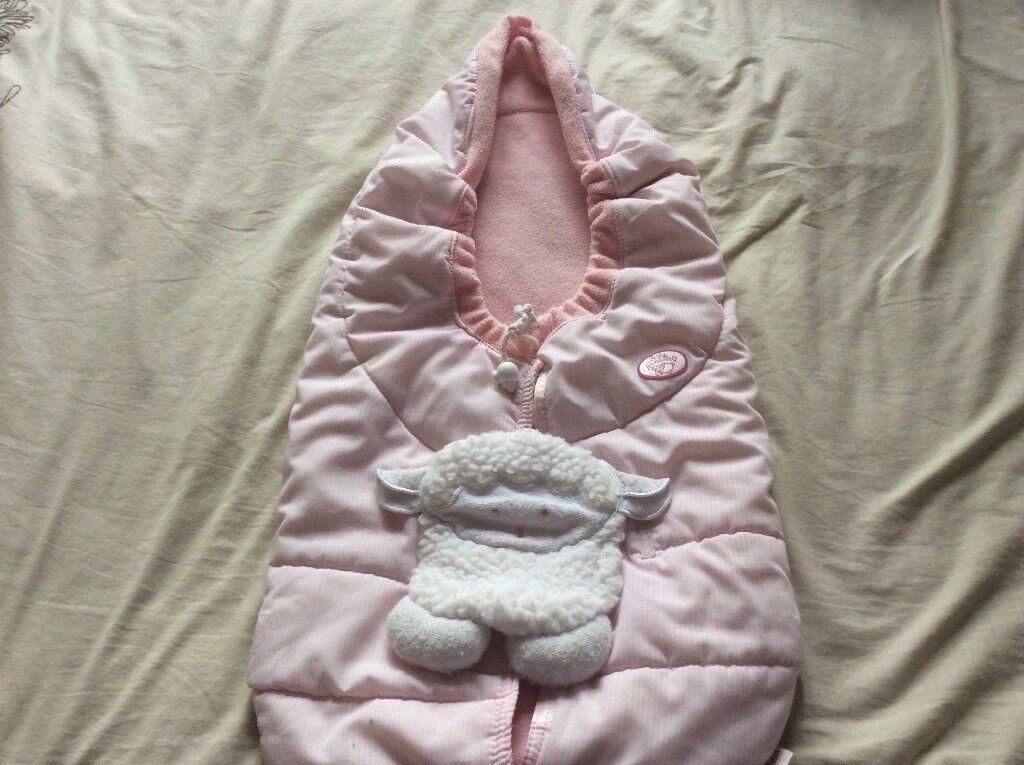Baby annabel dolls sleeping bag