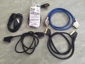 SCART cable bundle