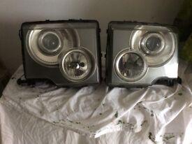 Front lights for Range Rover vogue l322