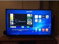 Bush LED49292UHDFVP 49 inch ultra HD DLED smart TV not even 3 weeks old