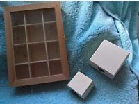 *STUDIO CLEARANCE* wood boxes