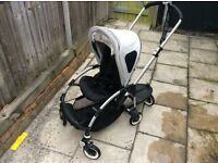 Bugaboo bee pram / car seats and lots of extras