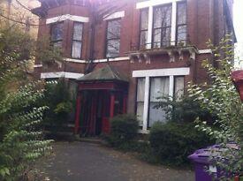 Linnet Ln. close Lark Ln & Sefton Pk. Large penthouse s/c flat of character . GCH. Large gardens