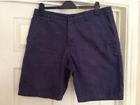 M & S Men's Navt Shorts
