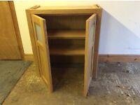 Beautiful oak handmade cupboard