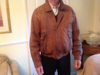 Mens vintage union leather jacket