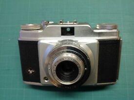 Agfa Silette 35mm film camera