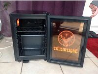 Jagermeister mini light-up fridge freezer