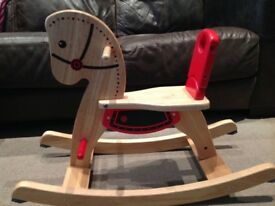 Pintoy Shetland Rocking Horse - excellent condition