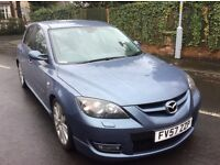 Mazda 3 mps Aero 2.3 turbo fsh 2008 leather remapped 300 bhp