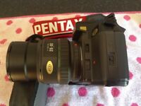 Pentax 35 mm camera & Rioch 35 mm camera