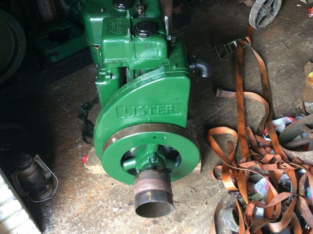 For sale lister lr1 stationary engine in sturminster for Stationary motors for sale