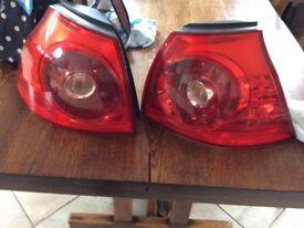 Vw MK5 Golf Rear Lights
