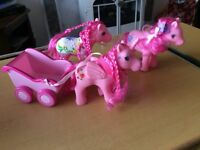 *** MY LITTLE PONIES *** SELECTION OF DIFFERANT SIZES AND DIFFERENT COLOURS