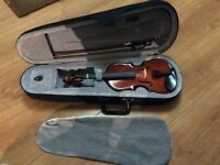 Student 1/8 Violin and Case