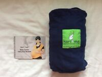 """Kari me"" wrap-around baby carrier/ sling. As new."
