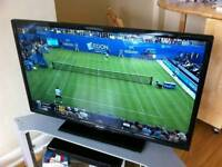 """Bush led 32""""hd tv freeview built in"""