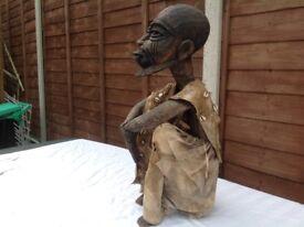 African based aboriginal statue LARGE