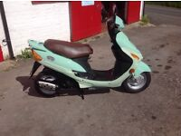 2000 Kymco Filly 50cc Four Stroke Scooter