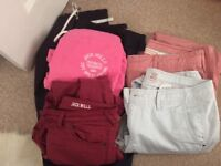 Designer trousers and jeans size 10