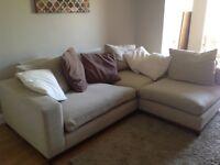 Shottons corner sofa - good condition.