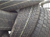 215/65/16c/ 215/60/16c /225/60/16c / wholesale & retail used tyres from £6..